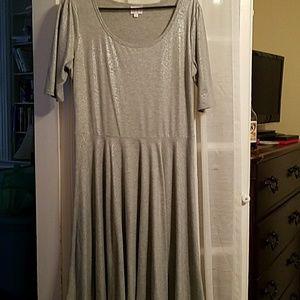 LuLaRoe Nicole dress, XL
